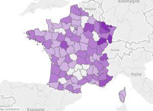 En France, la crémation ne se pratique pas de façon homogène sur tout le territoire.
