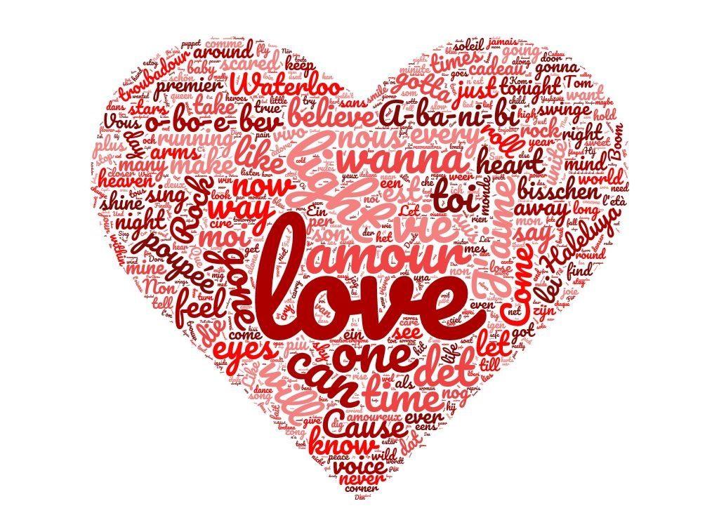 Pour gagner l'Eurovision, il faut chanter une chanson d'amour... Enfin a priori...