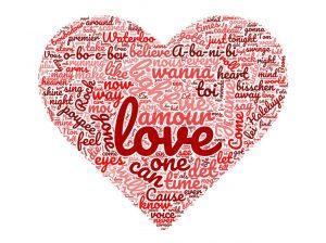 Les vainqueurs de l'Eurovision depuis 1956 ont très souvent chanté des textes dégoulinant d'amour.