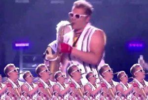 Epic Sax Guy, la sensation moldave de l'Eurovision 2010.