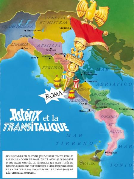 Astérix et la Transitalique sort ce jeudi 19 octobre.